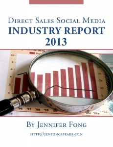 2013 Direct Sales Social Media Industry Report by Jennifer Fong