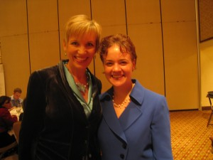 Meeting the incredible Mari Smith