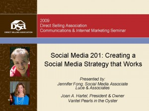 Social Media Strategy Slides: Click to Download