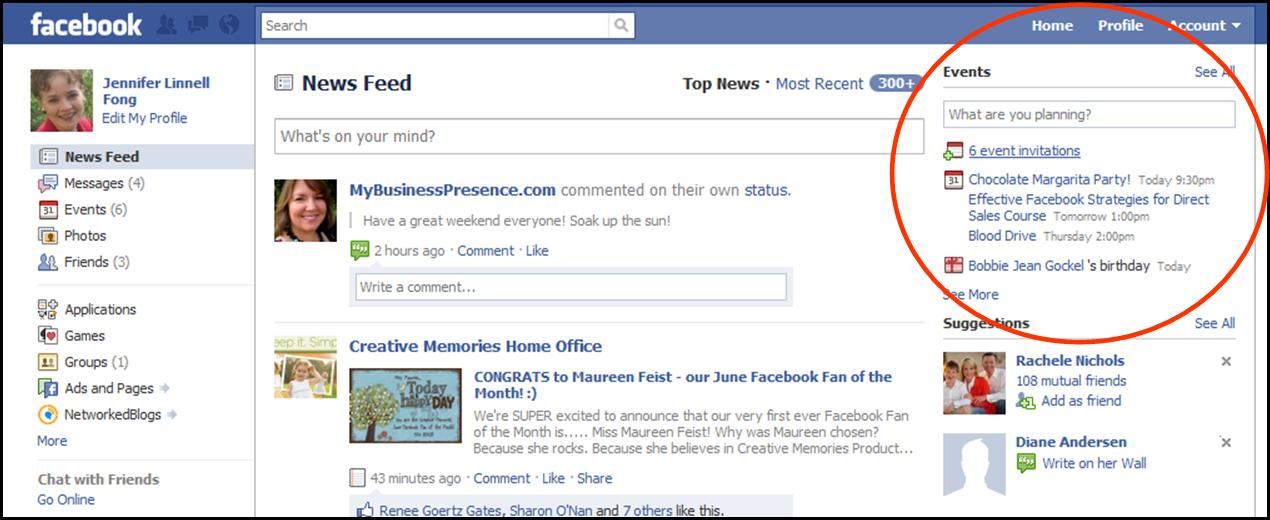 Are You Using Facebook Events? | Direct Sales and Social ...