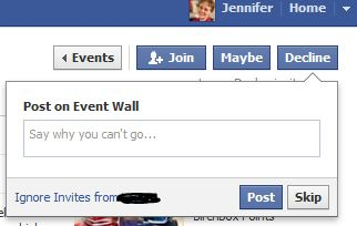 Are You Spamming with Facebook Events Direct Sales and Social