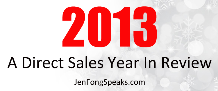 Direct Sales Year in Review and Looking Forward from jenfongspeaks.com