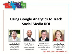 Using Google Analytics to Track Social Media ROI