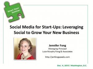 Social Media for Start-Ups 20131121