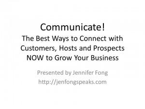 Jennifer Fong V2 - Communicate! Summer Conference_Jennifer Fong 20140717